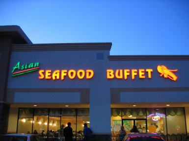 Asian Seafood Buffet in Roseville, California