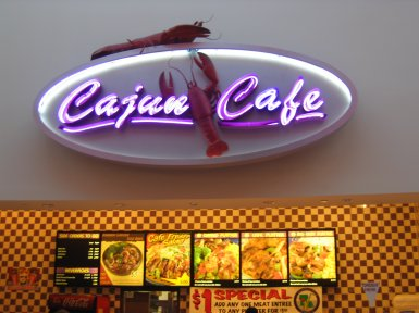 Cajun Café in Roseville, California
