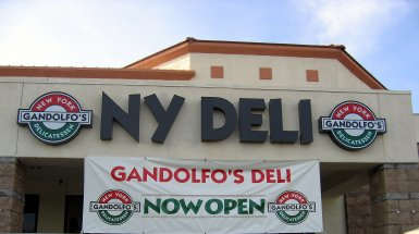Gandolfo's New York Deli in Roseville, California