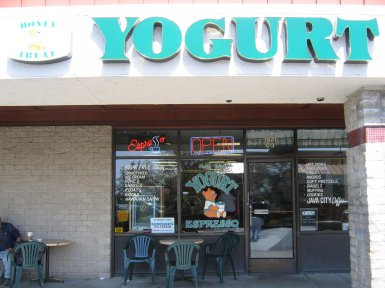 Honey Treat Yogurt in Roseville, California