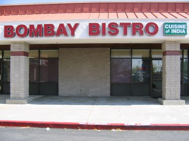 Bombay Bistro in Roseville, California