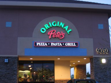 Original Pete's Pizza, Pasta, Grill in Roseville, California