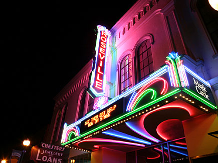 Roseville California's historical theatre