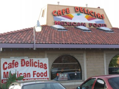 Cafe Delicias in Roseville, California