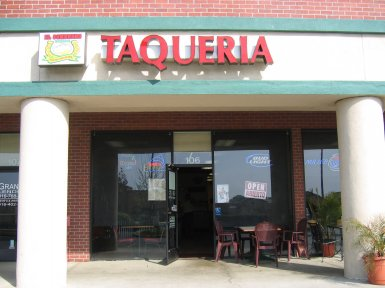 El Sombrero Taqueria in Roseville, California