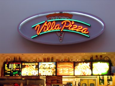 Villa Pizza in Roseville, California